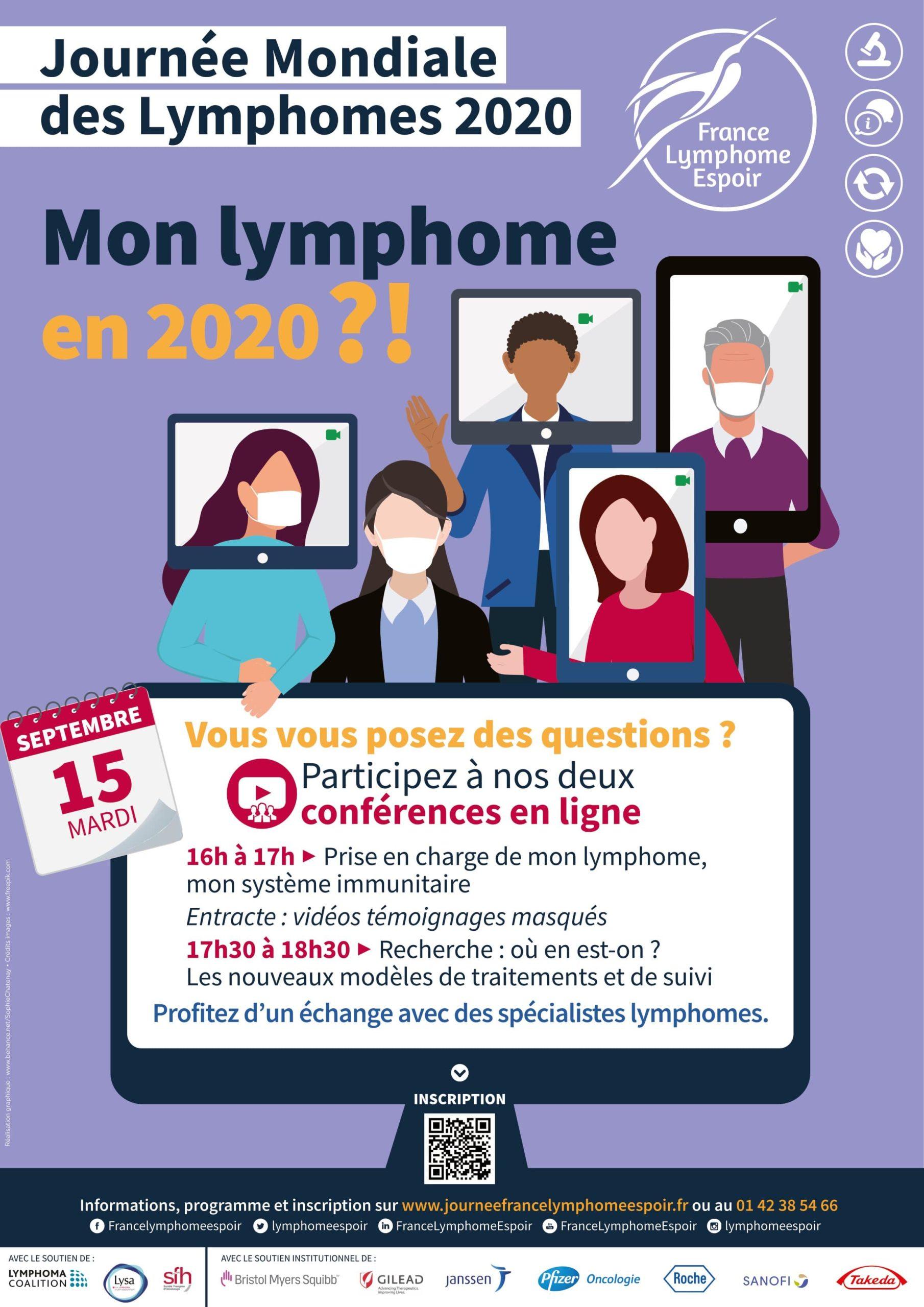 JOURNEE MONDIALE DES LYMPHOMES 15 SEPTEMBRE