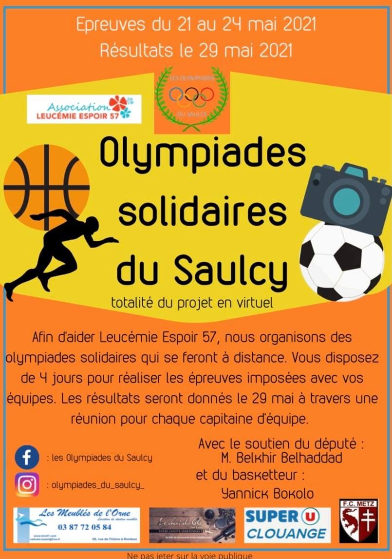 OLYMPIADES SOLIDAIRES DE SAULCY